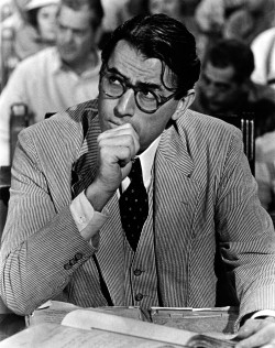 Gregory Peck nei panni di Atticus Finch